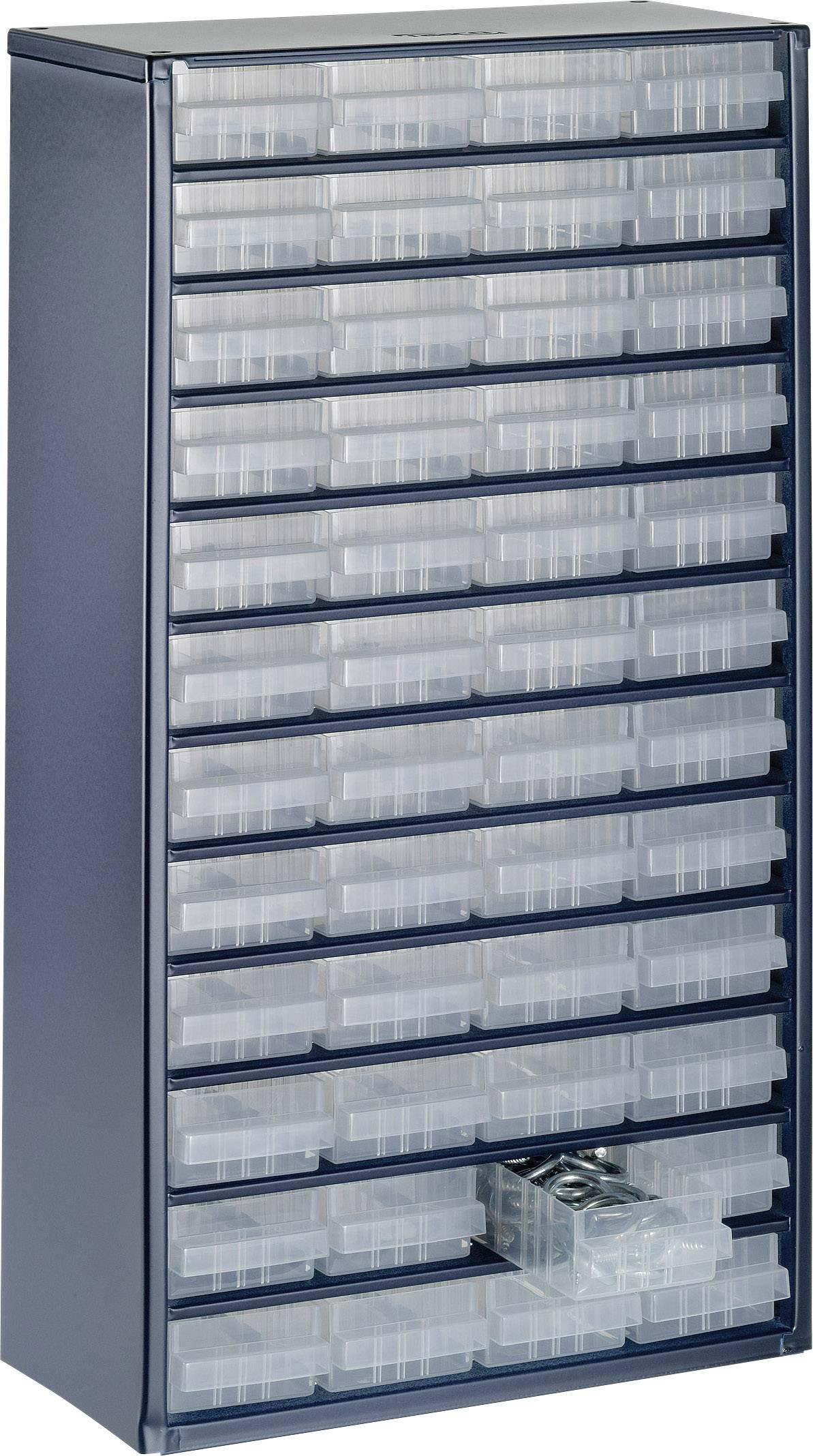 306 x 150 x 552mm Anzahl Fächer L x B x H Raaco 1248-01 Schubladenschrank 48