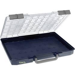 Kufřík na součástky raaco, CarryLite 55 5x10-0, 136266, přihrádek: 0, 413 x 57 x 330, modrá