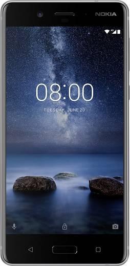 Nokia 8 LTE-Smartphone 13.5 cm (5.3 Zoll) 2.5 GHz, 1.8 GHz Octa Core 64 GB 13 Mio. Pixel, 13 Mio. Pixel Android™ 7.1 Nou
