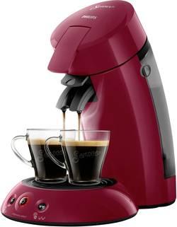 Kávovar na kapsle SENSEO® HD6554/90 Original HD6554/90, rubínově červená