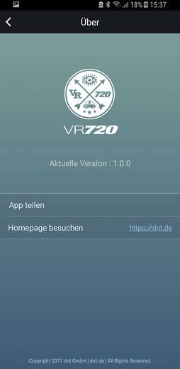 dnt VRCAM720 Pirateblack Zusatzkamera Schwarz