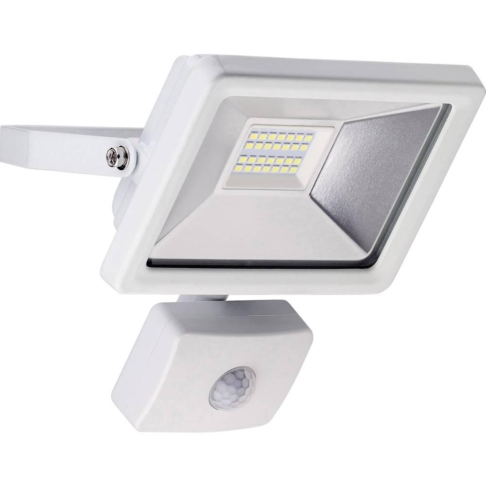 projecteur led ext rieur avec d tecteur de mouvements blanc lumi re du jour goobay 20 w blanc. Black Bedroom Furniture Sets. Home Design Ideas