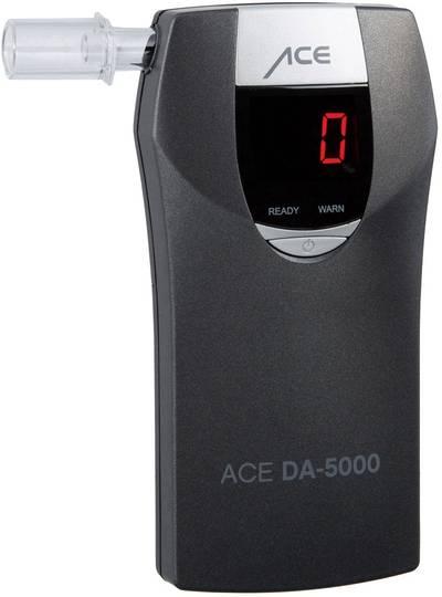 Etilometro ACE DA-5000 Grigio 4.00 fino a 0.00 ‰ Funzione conto alla rovescia, Allarme, Visualizzazione diverse unità,