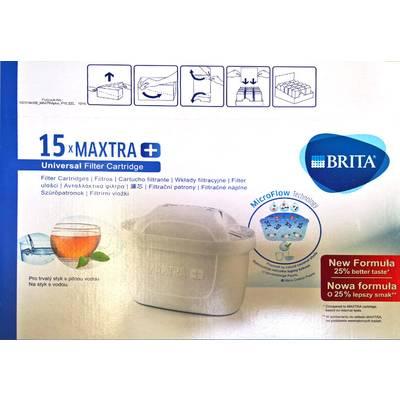 15 x Brita Maxtra+ Wasserfilter, Filterkartusche Sparpack Preisvergleich