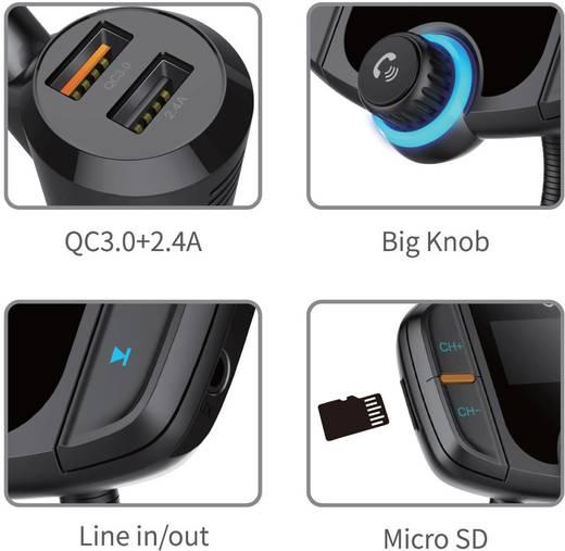 fm transmitter renkforce rf fmd 01 bluetooth microsd. Black Bedroom Furniture Sets. Home Design Ideas