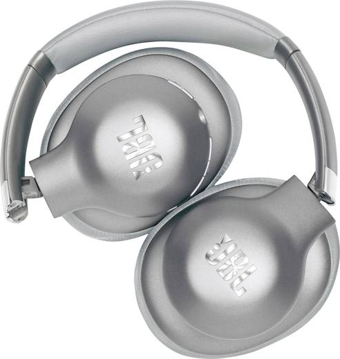 Bluetooth® Reise Kopfhörer JBL Everest Elite 750NC Over Ear Faltbar, Headset, Noise Cancelling Silber