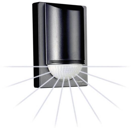 aufputz bewegungsmelder steinel is2180 2sw 180 schwarz. Black Bedroom Furniture Sets. Home Design Ideas