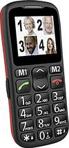 Amplicomms PowerTel M6350 Senioren-Handy Schwarz