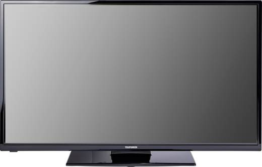 Telefunken B43F545B LED-TV 109 cm 43 Zoll EEK A++ DVB-T2, DVB-C, DVB-S, Full HD, Smart TV, WLAN, CI+ Schwarz