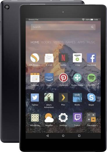 amazon fire hd8 tablet 32 gb android tablet 20 3 cm 8. Black Bedroom Furniture Sets. Home Design Ideas