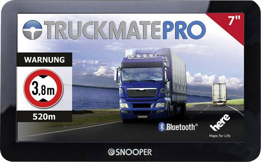 snooper truckmate pro s6810 lkw navi 17 8 cm 7 zoll europa. Black Bedroom Furniture Sets. Home Design Ideas