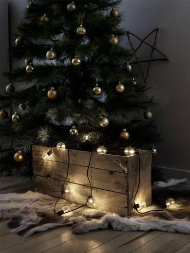 konstsmide 2373 100 party lichterkette au en batteriebetrieben 10 20 gl hlampe led klar warm. Black Bedroom Furniture Sets. Home Design Ideas