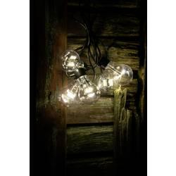 LED párty svetelná reťaz Konstsmide 2372-100, vonkajšie 2372-100, na batérie, 5 m