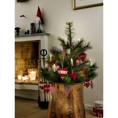Konstsmide 1906-100 Weihnachtsbaum-Dekoration Warm-Weiß LED Weiß Preisvergleich
