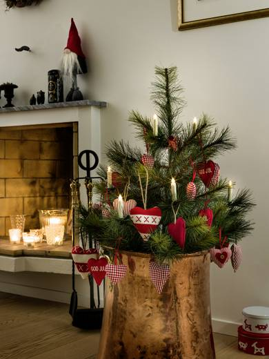 weihnachtsbaum dekoration warm wei led konstsmide 1906. Black Bedroom Furniture Sets. Home Design Ideas