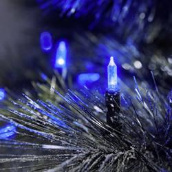 LED mini světlelná reťaz Konstsmide 6060-400, vonkajšie 6060-400, 230 V, modrá, 25.85 m