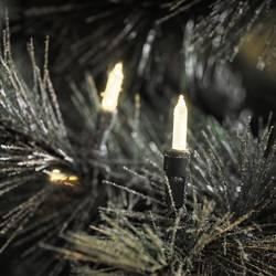 LED mini světlelný řetěz Konstsmide 6080-100;6080-100, venkovní, 230 V, teplá bílá, 53.45 m