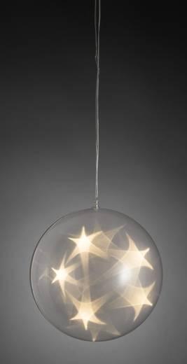 Konstsmide 3770 103 Led Weihnachtsdekoration Kugel Mit Timer Warm