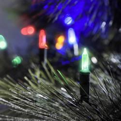 LED mini světlelná reťaz Konstsmide 6060-500, vonkajšie 6060-500, 230 V, farebná, 25.85 m