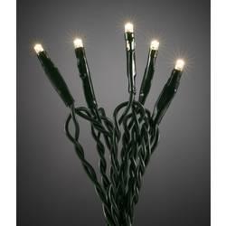 LED micro svetelná reťaz Konstsmide 6353-120, vnútorné 6353-120, 230 V, teplá biela, 6.43 m
