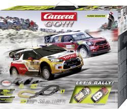 Autodráha Carrera GO!!!, startovací sada Let's Rally 20062433