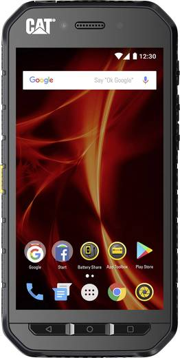CAT S41 Outdoor Smartphone 12.7 cm (5 Zoll) 2.3 GHz Octa Core 32 GB 13 Mio. Pixel Android™ 7.0 Nougat Schwarz