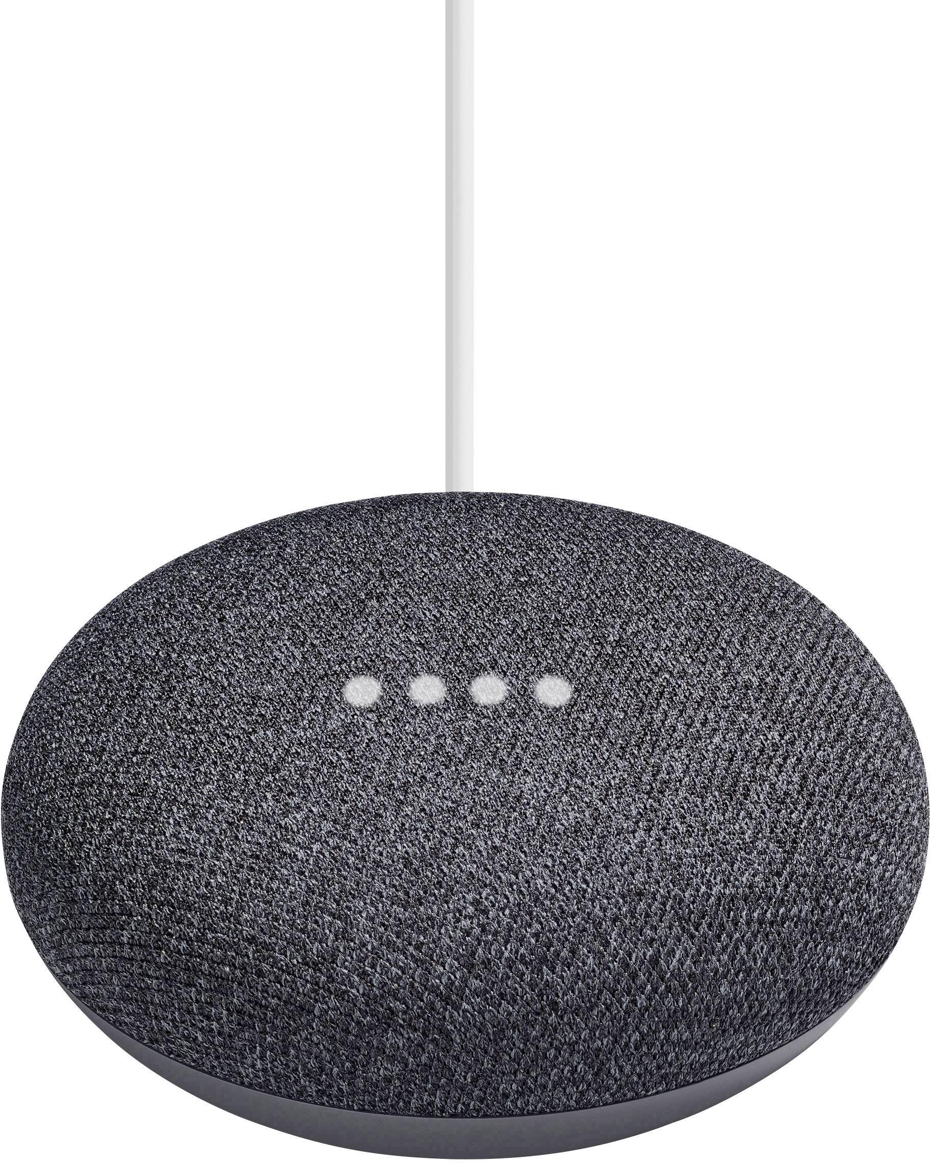 Google Home Mini Sprachassistent Karbon