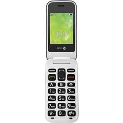 Doro 2424 telefón pre seniorov - véčko tlačidlo SOS champagne