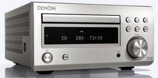 cd player denon rcd m41 silber bluetooth dab kaufen. Black Bedroom Furniture Sets. Home Design Ideas