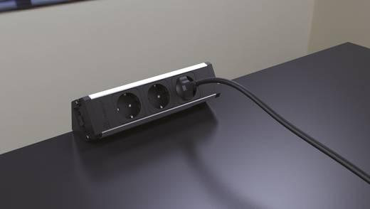 einbau steckdosenleiste 3fach aluminium eloxiert kopp 939628014 kaufen. Black Bedroom Furniture Sets. Home Design Ideas
