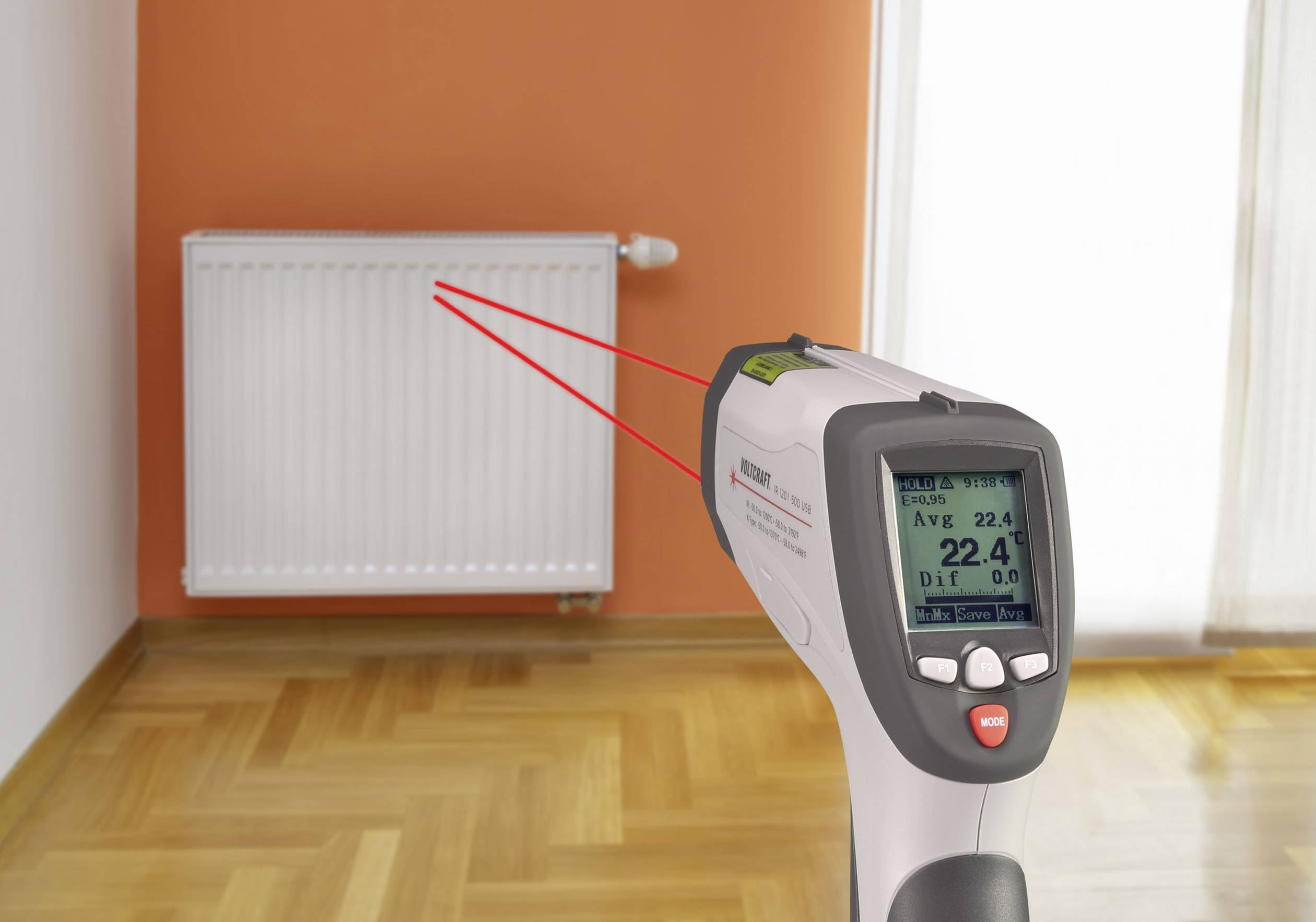 Infrarot thermometer pyrometer günstig online kaufen bei conrad