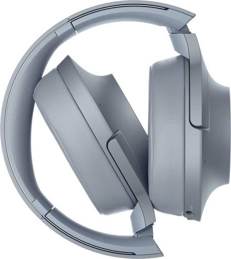 Sony WH-H900N Bluetooth® HiFi Kopfhörer Over Ear Faltbar, High-Resolution Audio, NFC Blau