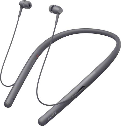 Bluetooth® HiFi Kopfhörer Sony WI-H700 In Ear High-Resolution Audio, NFC Schwarz