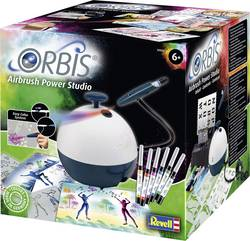 Image of Airbrush-Einsteiger-Set mit Kompressor Orbis 30020