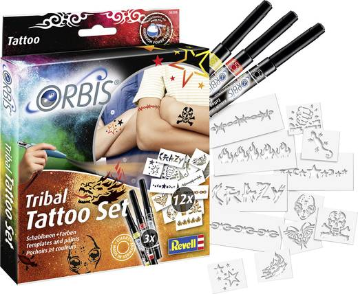 orbis tribal tattoo set 30308 tattoo set f r jungen. Black Bedroom Furniture Sets. Home Design Ideas