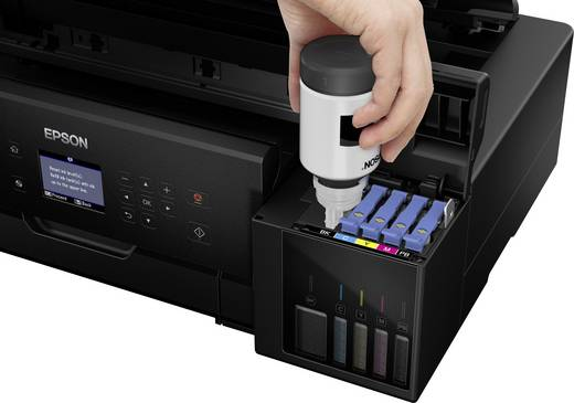 Epson EcoTank ET-7750 Tintenstrahl-Multifunktionsdrucker A3 Drucker, Scanner, Kopierer LAN, WLAN, Duplex, Tintentank-Sys
