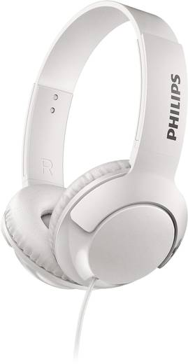 Philips SHL3070WT Kopfhörer On Ear Faltbar Weiß