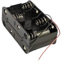 Batériový držák na 8x baby (C) MPD BH48CW, kábel, (d x š x v) 106 x 58 x 45 mm