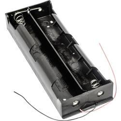 Batériový držák na 6x mono (Typ D) MPD BH26DW, kábel, (d x š x v) 201 x 73 x 29 mm