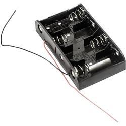 Batériový držák na 4x baby (C) MPD BH4CW, kábel, (d x š x v) 106 x 58 x 23 mm