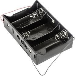 Batériový držák na 3x mono (Typ D) MPD BH3DW, kábel, (d x š x v) 107 x 71 x 28 mm