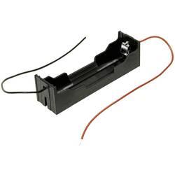 Batériový držák na 1x 18650 MPD BH-18650-W, kábel, (d x š x v) 78 x 21 x 21 mm