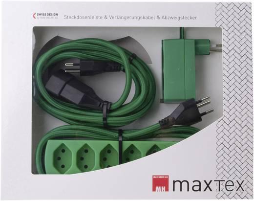 Max Hauri Ag 125403 Strom Verlängerungskabel Grün 3 M