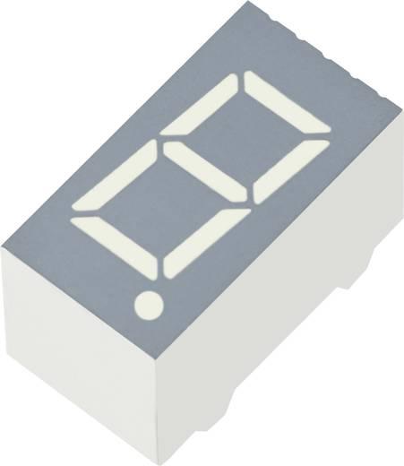 7-Segment-Anzeige Rot 9 mm 2.25 V Ziffernanzahl: 1 Kingbright SA36-11HWA