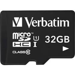 Pamäťová karta micro SDHC, 32 GB, Verbatim Tablet, Class 10, UHS-I, vr. USB čítačky kariet