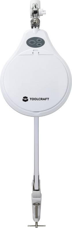 Lupa s LED osvětlením 60 SMD LED TOOLCRAFT 1601088, prac.rádius 128 cm