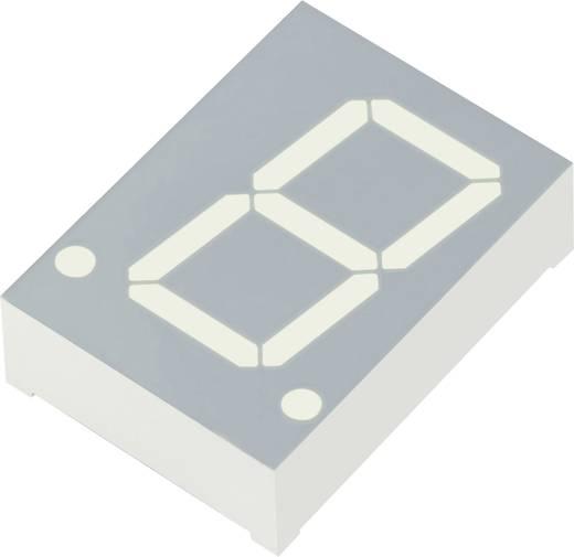 7-Segment-Anzeige Rot 20 mm 2.25 V Ziffernanzahl: 1 Kingbright SA08-11HWA