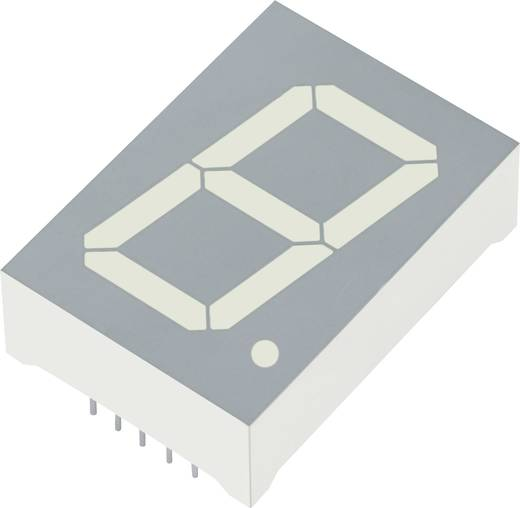 7-Segment-Anzeige Grün 25 mm 4.4 V, 2.2 V Ziffernanzahl: 1 Kingbright SA10-21GWA