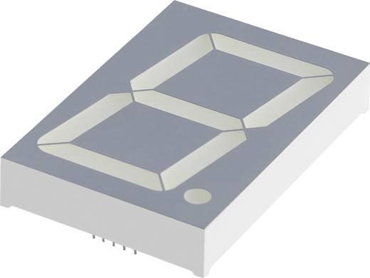 7-Segment-Anzeige Grün 57 mm 8.6 V, 4.4 V Ziffernanzahl: 1 Kingbright SA23-12GWA