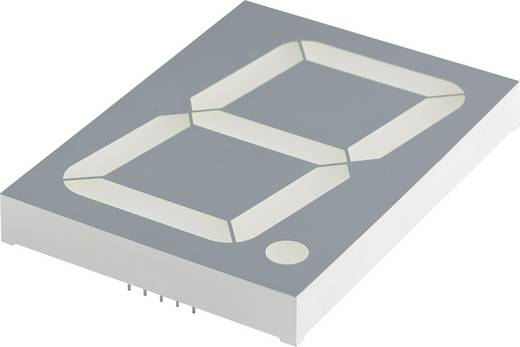 Kingbright 7-Segment-Anzeige Grün 100 mm 8 V, 4 V Ziffernanzahl: 1 SC40-19SGWA